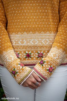 Easy Knitting Patterns for Beginners - How to Get Started Quickly? Fair Isle Knitting Patterns, Fair Isle Pattern, Knit Patterns, Pull Jacquard, Fair Isles, Hand Dyed Yarn, Pulls, Knitting Projects, Knit Crochet