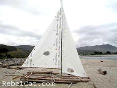 driftwood sailboats - Google Search