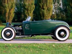 1931 Ford Roadster - Green Devil