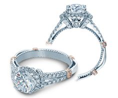 Here is your chance to win this PARISIAN-DL117R {NEW} engagement ring from The Parisian Collection. #sweepstakes @Verragio
