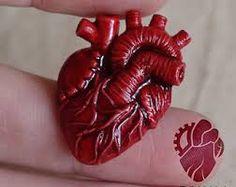 Resultado de imagen para polymer clay heart