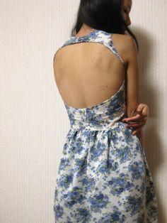 Cut out Garden Party Dress