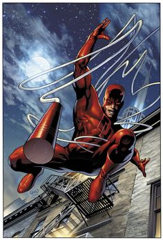 #Daredevil #Fan #Art. (DAREDEVIL #65) By: Greg Land.