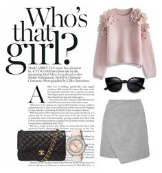 """""""Who's that girl?"""" by gingermrocks ❤ liked on Polyvore featuring Chicwish, Chanel, Ted Baker, women's clothing, women's fashion, women, female, woman, misses and juniors"""
