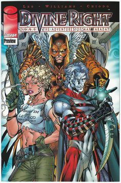 Christy Blaze, Tobruk, and Brande - Divine Right: The Adventures of Max Faraday by Jim Lee Comic Book Artists, Comic Book Characters, Comic Artist, Comic Character, Comic Books Art, Dc Comics, Image Comics, Batman Eternal, Jim Lee Art