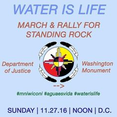 #WashingtonDC  repost from @djalibc SHARE/POST/REPOST IF you can make it go tomorrow! Theres another happening on 12/10 in DC Yesterday the federal government revealed plans to shut down the camps on the #StandingRockSioux Rez on 12/5. Although Col. John Henderson expressed in his letter to tribal chairman Dave Archambault that the decision is necessary to protect the general public from the violent confrontations between #protestors and law enforcement officials that have occurred in this…