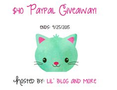 Enter to Win $40 Paypal Cash Giveaway Ends 9/25