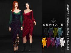 The Sims 4 Sentate - Morgana Wrap Dress