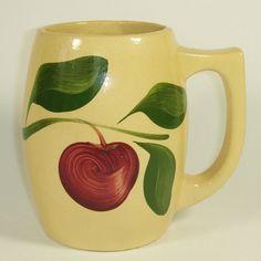 Watt Pottery, Rare Apple #5012 Mug @ watt-pottery.com