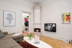 Очаровательная шведская квартира оригинальной планировки |