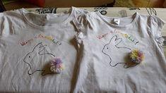 Süti és más...: Locsolóváró póló DIY Onesies, T Shirts For Women, Diy, Clothes, Tops, Fashion, Outfits, Moda, Clothing