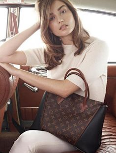 The new W bag by Louis Vuitton.