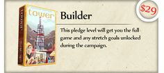 Tower: A Board Game of Buying and Building by Ben Haskett — Kickstarter
