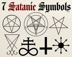 By request, here is a pack of Satanism symbol clip art. Including: Inverted Pentagram Inverted Pentacle Inverted Crucifix Sigil of Lucifer Sigil of Baphomet Leviathan Cross Chaos Star Each is available in High res transparent PNG format, SVG Demon Symbols, Occult Symbols, Magic Symbols, Occult Art, Ancient Symbols, Viking Symbols, Egyptian Symbols, Viking Runes, Satanic Star