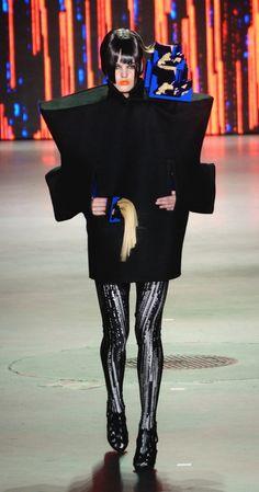 Marga Weimans @ Amsterdam Fashion Week AW13 - www.runwaypassport.com