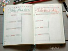 Merry Christmas Bullet Journal Ideas {Stress Free Planning for December} Bullet Journal Ideas 2018, Bullet Journal Lined Paper, Bullet Journal And Diary, Bullet Journal Hacks, Journal Paper, Bullet Journal Spread, Bullet Journal Layout, Bullet Journals, Anxiety Support Groups