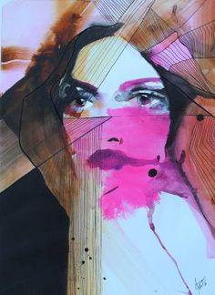 "Saatchi Art Artist Anna Matykiewicz; Painting, ""Composition II"" #art"