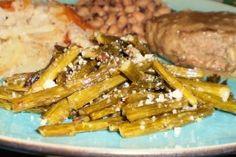 Roasted Italian Asparagus With Parmesan