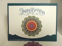 I Dig Stamps: Cards for Every Occasion using Stampin' Up! Quintessential Flower