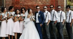While the two of you are the most important people at a wedding, half the fun is being able to celebrate and anticipate your big day with your closest friends by your side serving as bridesmaids and groomsmen. While you might think you can just grab your friends, assign them a bridal title, and call …
