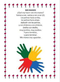 Spanish Songs, Toddler Learning, Preschool, Nursery, Classroom, Education, Frame, Learn Spanish, Texts