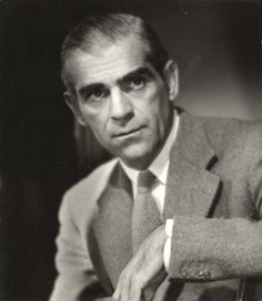 Boris Karloff without the makeup. Classic Monsters, Iconic Movies, Golden Age Of Hollywood, Frankenstein, Famous People, Cool Photos, Icons, Nice, Makeup