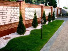 простой ландшафтный дизайн двора частного дома своими руками фото 2