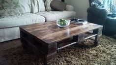 Antique Pallet/Skid Coffee Tables