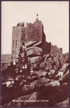 CARN BREA CASTLE | Near Redruth, Cornwall: 'The Castle was modified during the eighteenth and nineteenth centuries but had fallen into disrepair in the 1950s. In later years it was privately owned and some renovation took place; it was classed by English Heritage as a Grade II listed building in 1975.'     ✫ღ⊰n
