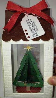 Live, Love & Stamp: House Ornament!