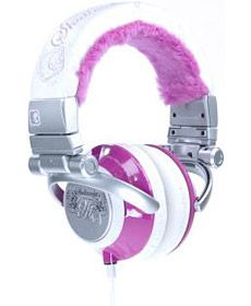 Skull Candy Headphones. These look like they'll keep your head warm..