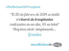 Día Nacional del Trasplante