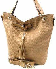 Camel Colored Handbag
