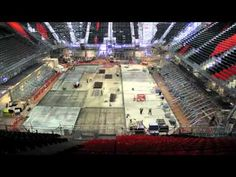 Time lapse - Basketball Arena London 2012 Olympics HD