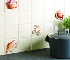La Belle Collection Seashell Tiles