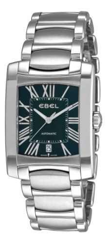 Men's Wrist Watches - Ebel Mens 9120M4152500 Brasilia Black Roman Numeral Dial Watch ** Check out this great product. (This is an Amazon affiliate link)