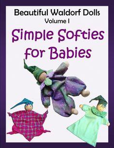 Simple Softies Waldorf Dolls 3-Pack PDF Pattern Plus BONUS Tabby Cat Pattern. $9.50, via Etsy.
