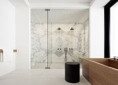 Elevated Living at the Balmoral Residence | Est Living #marblebathrooms