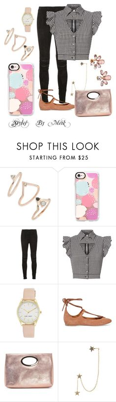 """Untitled #89"" by lillady-parker-glanton ❤ liked on Polyvore featuring Topshop, Casetify, Yves Saint Laurent, Marissa Webb, Nine West, Chloé, Donald J Pliner, Zimmermann and Marchesa"