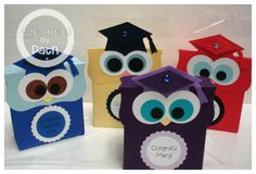 owl graduation favors
