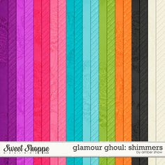 Glamour Ghoul Shimmers by Amber Shaw