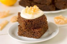 Gluten Free Gingerbread Cake: A Treat for Thanksgiving and Christmas by Food Fanatic on Epicurious Community Table Gluten Free Sweets, Gluten Free Cakes, Gluten Free Baking, Gluten Free Recipes, Flour Recipes, Meat Recipes, Baking Recipes, Healthy Recipes, Gluten Free Gingerbread