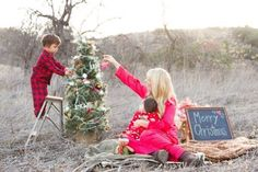 12 Outdoor Family Holiday Card Ideas That Arent a Tree Farm via Brit + Co