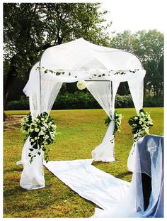 images of outdoor plain simple weddings | compare to those traditional wedding venues lawn wedding is more