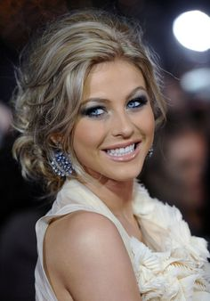 Julianne Hough Messy Updo - Julianne Hough Updos - StyleBistro