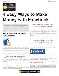 Image result for making money with facebook