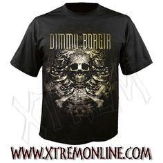 Camiseta de Dimmu Borgir - Snake ¡Echa un vistazo a nuestro merchandising de Dimmu Borgir! Todo en Stock. Envíos inmediatos. Camisetas heavy metal.