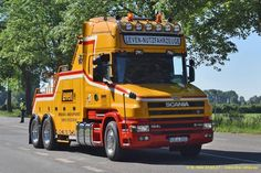 SCANIA TOW - Leven (Allemagne - Германия)