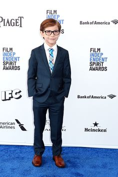 Jacob Tremblay attends the 2016 Film Independent Spirit Awards on February 27…