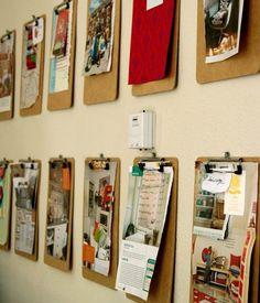 , Tags Deko Ideen, Pinnwand, Wand, Wohnideen, Design, Wandgestaltung, Wohnen